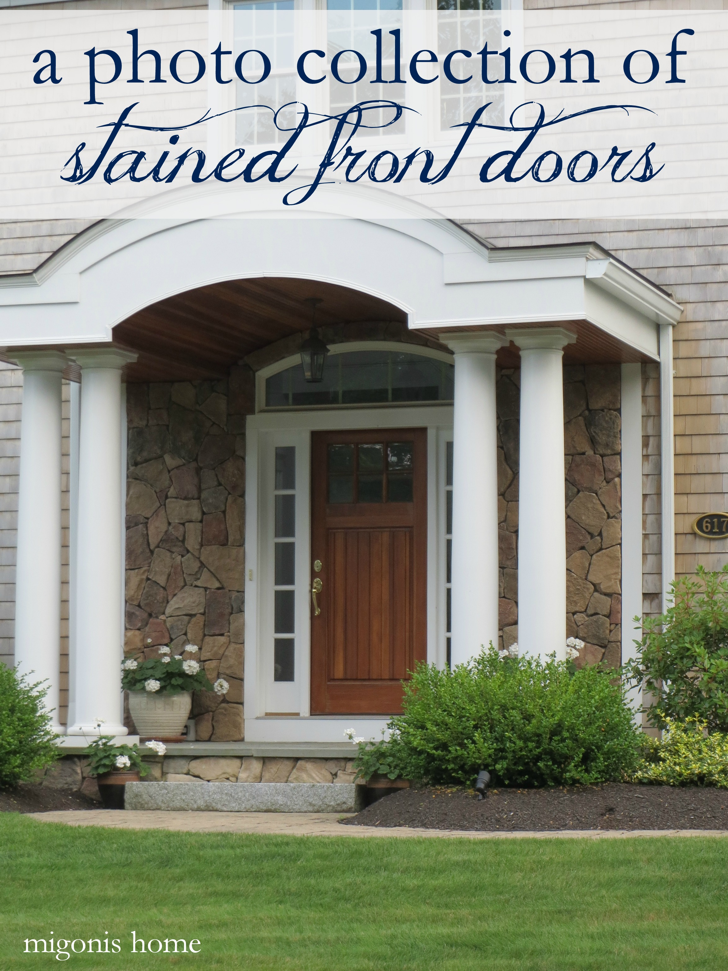 Stained Front Doors   Migonis Home