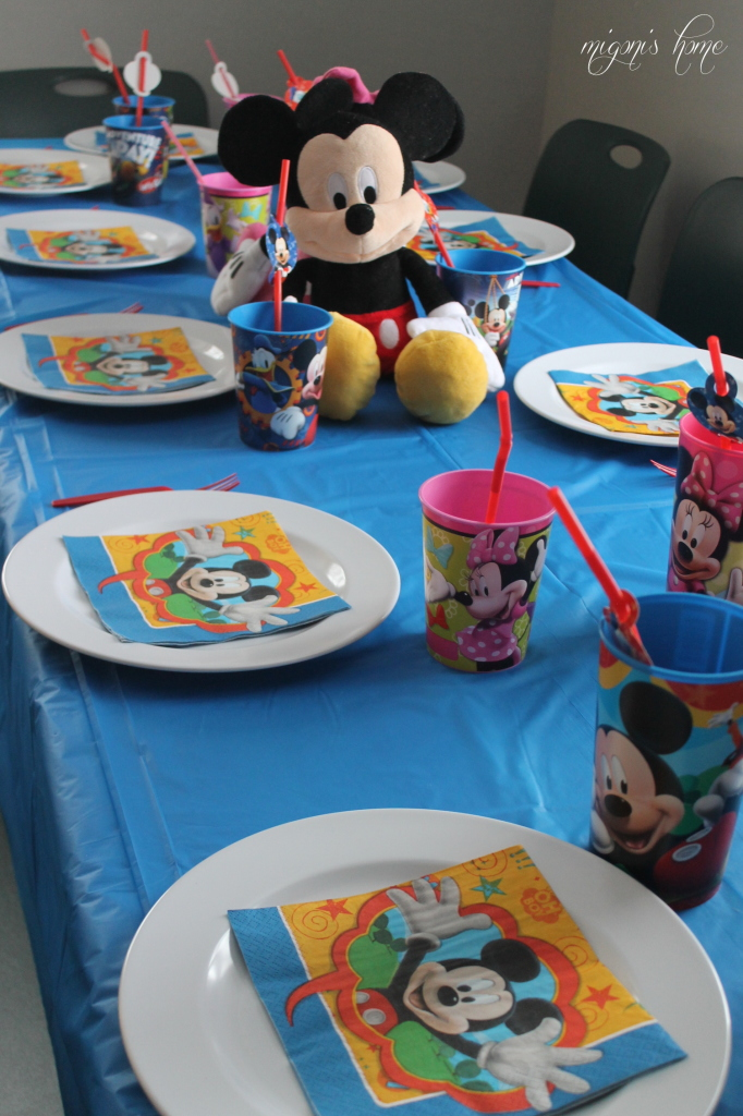 Migonis Home Simple Mickey Mouse Birthday Party