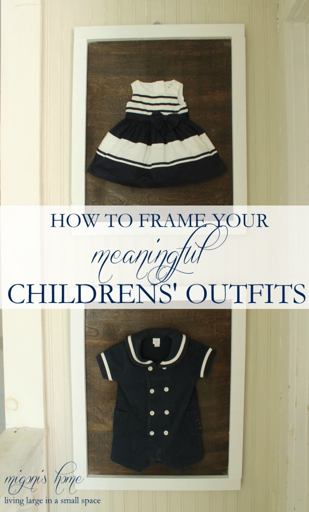 framing children's outfits overlay